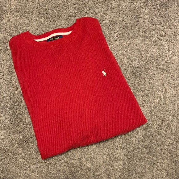 Polo by Ralph Lauren Other - Red Polo Long Sleeve Shirt
